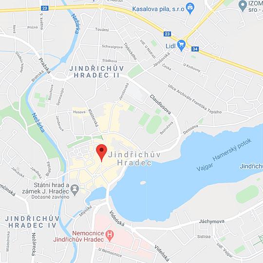 Městské informační centrum J. Hradec