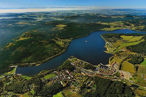 Lipenská přehrada, Lipno nad Vltavou, zdroj: Libor Sváček archiv Vydavatelství MCU
