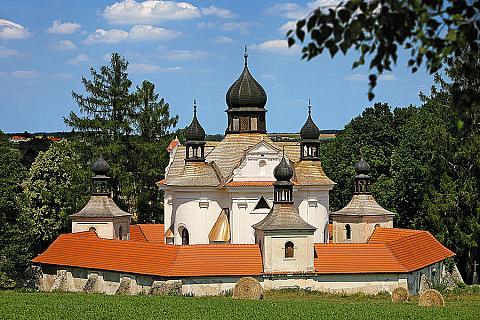 Trhové Sviny – barokní poutní kostel Svaté Trojice, zdroj: Libor Sváček archiv Vydavatelství MCU