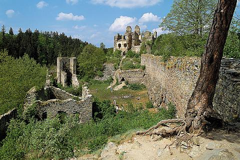 Dívčí kámen, zdroj: Libor Sváček archiv Vydavatelství MCU