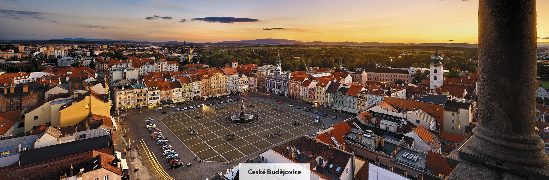 České Budějovice, náměstí Přemysla Otakara II., zdroj: Libor Sváček, archiv Vydavatelství MCU