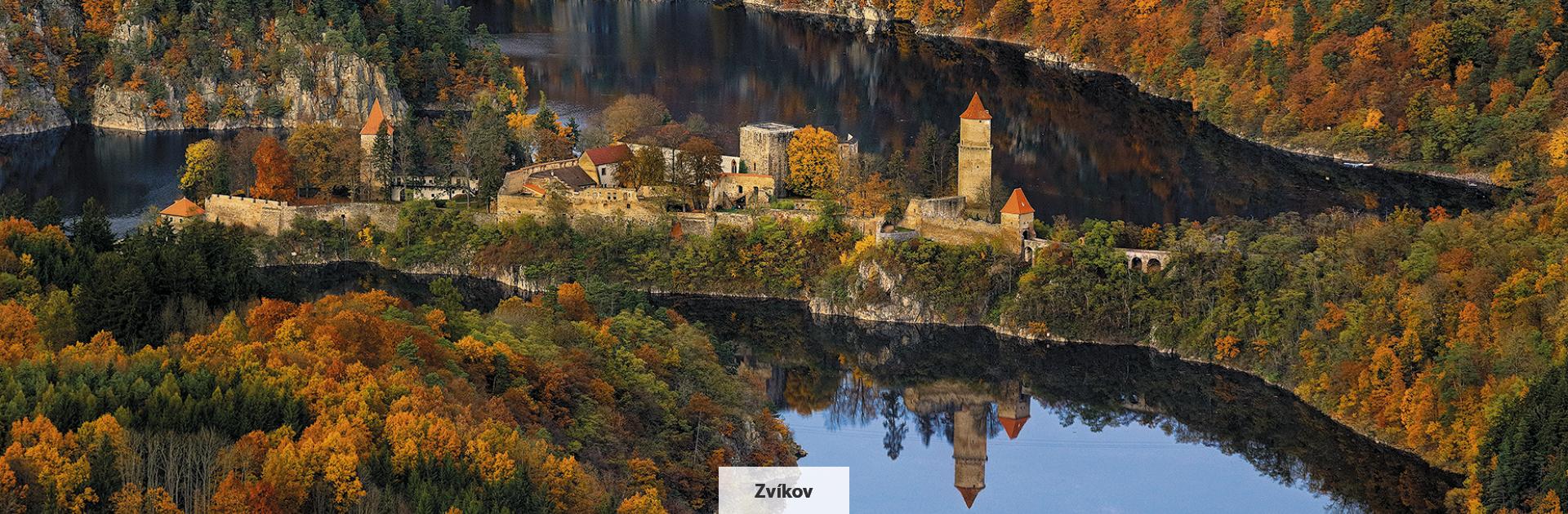 Zvíkov, královský hrad z počátku 13. století, zdroj: Libor Sváček, archiv Vydavatelství MCU