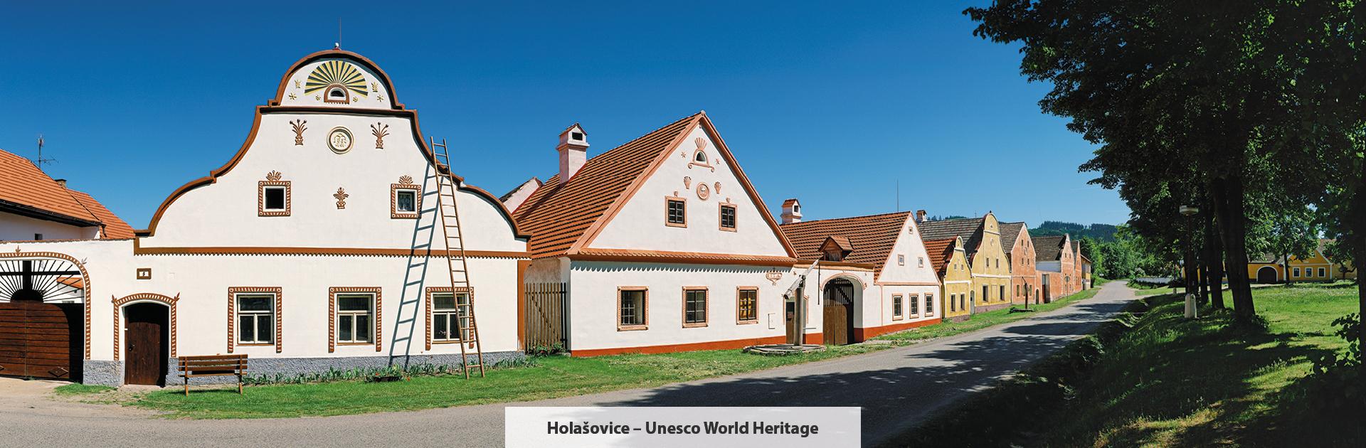 Holašovice, Bildquelle: Libor Sváček, Archiv Vydavatelství MCU
