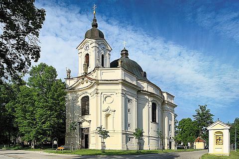 Kostel Panny Marie Bolestné na Dobré Vodě, zdroj: Libor Sváček archiv Vydavatelství MCU
